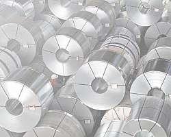 Torno de repuxo de aluminio