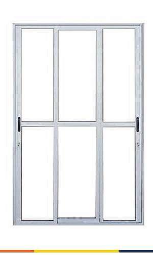 Preço de porta de alumínio